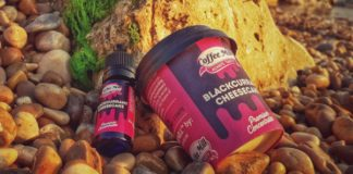 RECENSIONE AROMA SIGARETTA ELETTRONICA COFFE MILL BLACKCURRANT CHEESECAKE LIQUIDO PER LO SVAPO