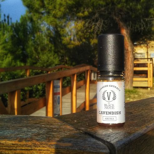 RECENSIONE AROMA TABACCOSO V BY BLACK NOTE CAVENDISH